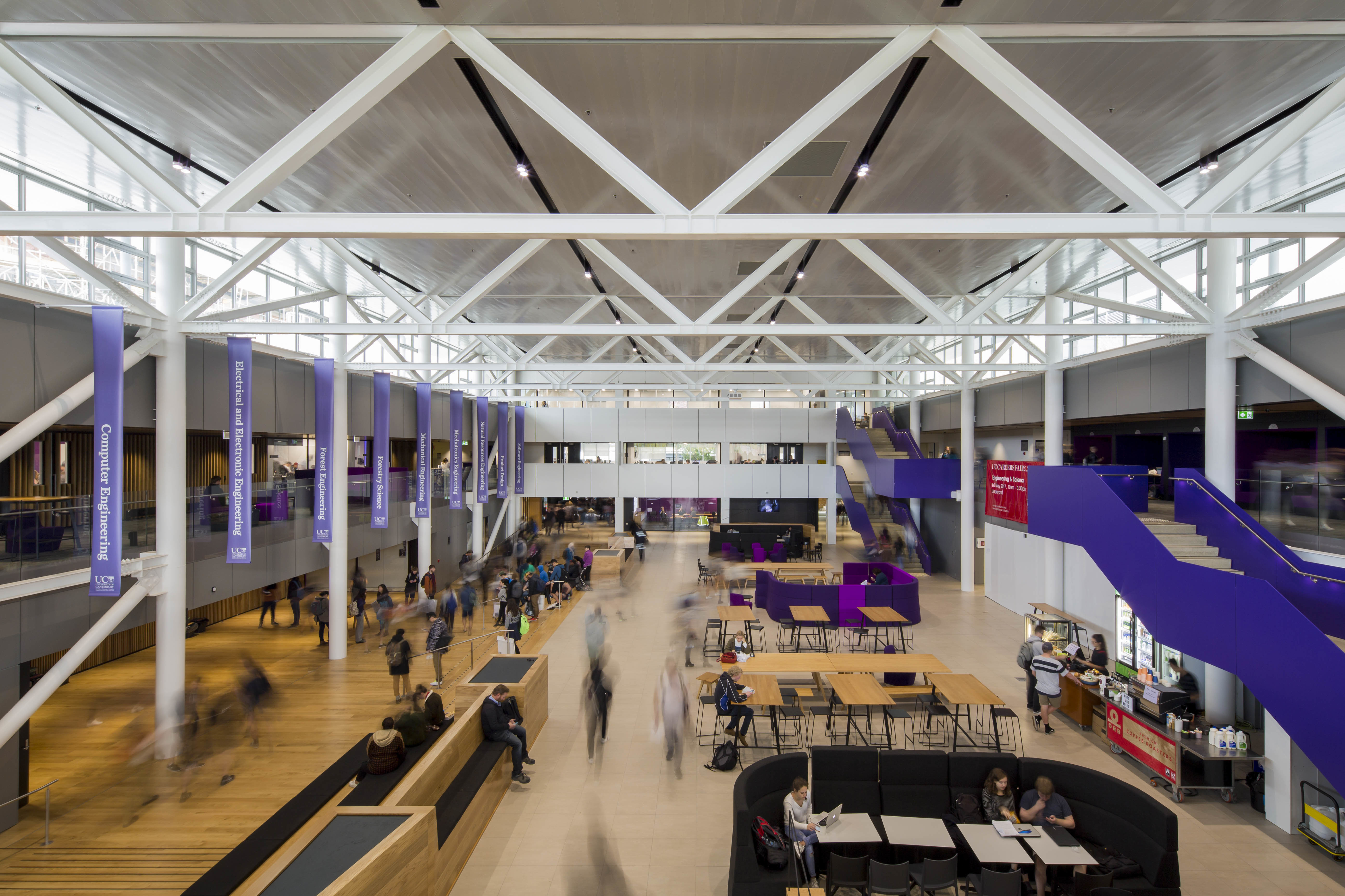 Redeveloped University of Canterbury College is Engineered for a Bolder Future