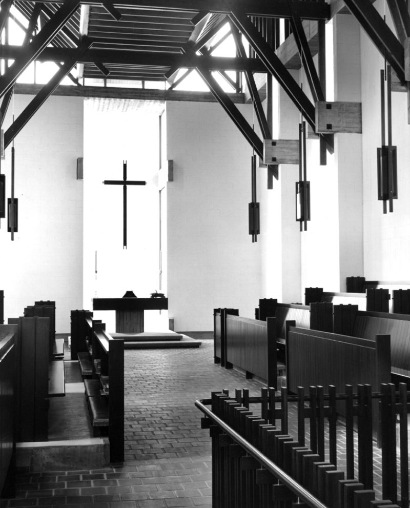 College House chapel, 1964