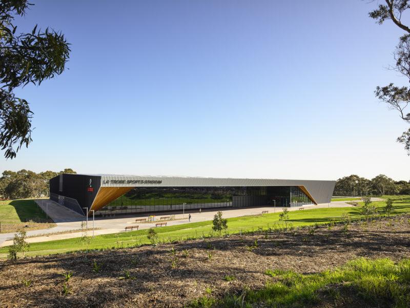 La Trobe University Sports Stadium hailed for sustainability