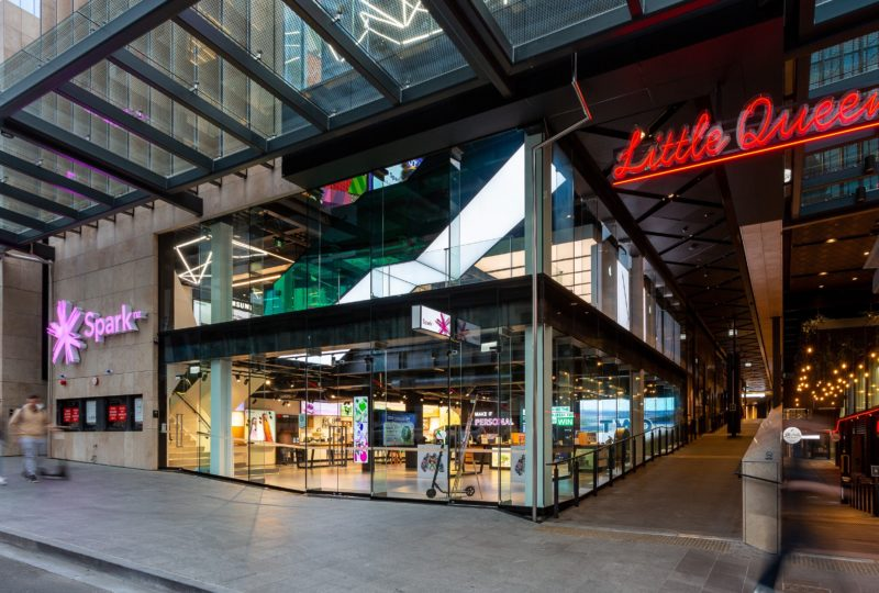 Commercial Bay welcomes Spark's new innovative retail experience
