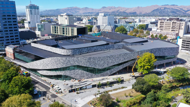 Te Pae Christchurch to Open for Business in October