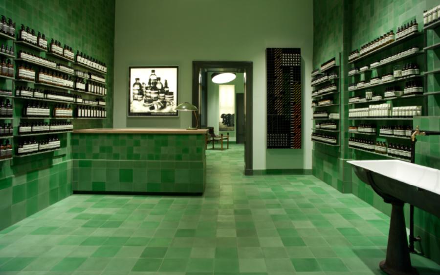 Aesop store, Germany Photo Via Aesop