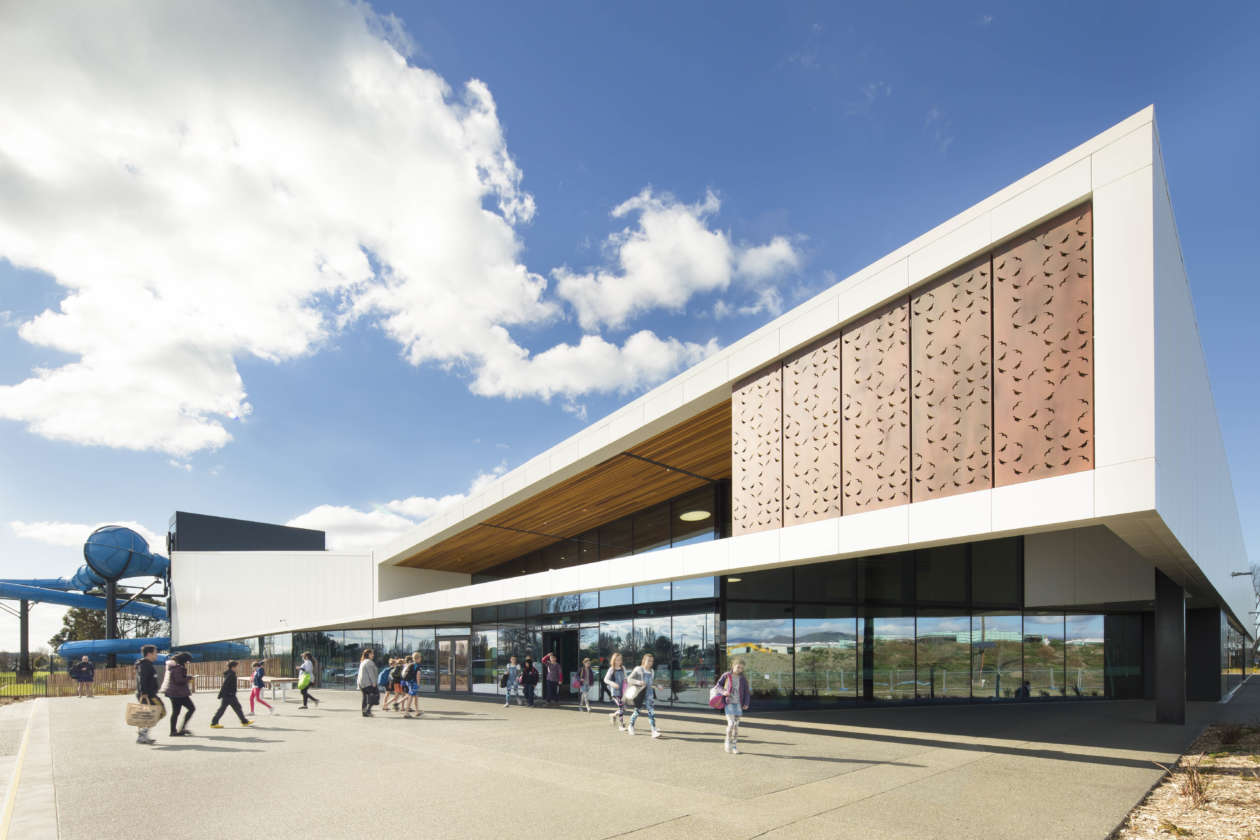 QEII Recreation and Sports Centre creates a sustainable and public building that restores and grows participation in sport.