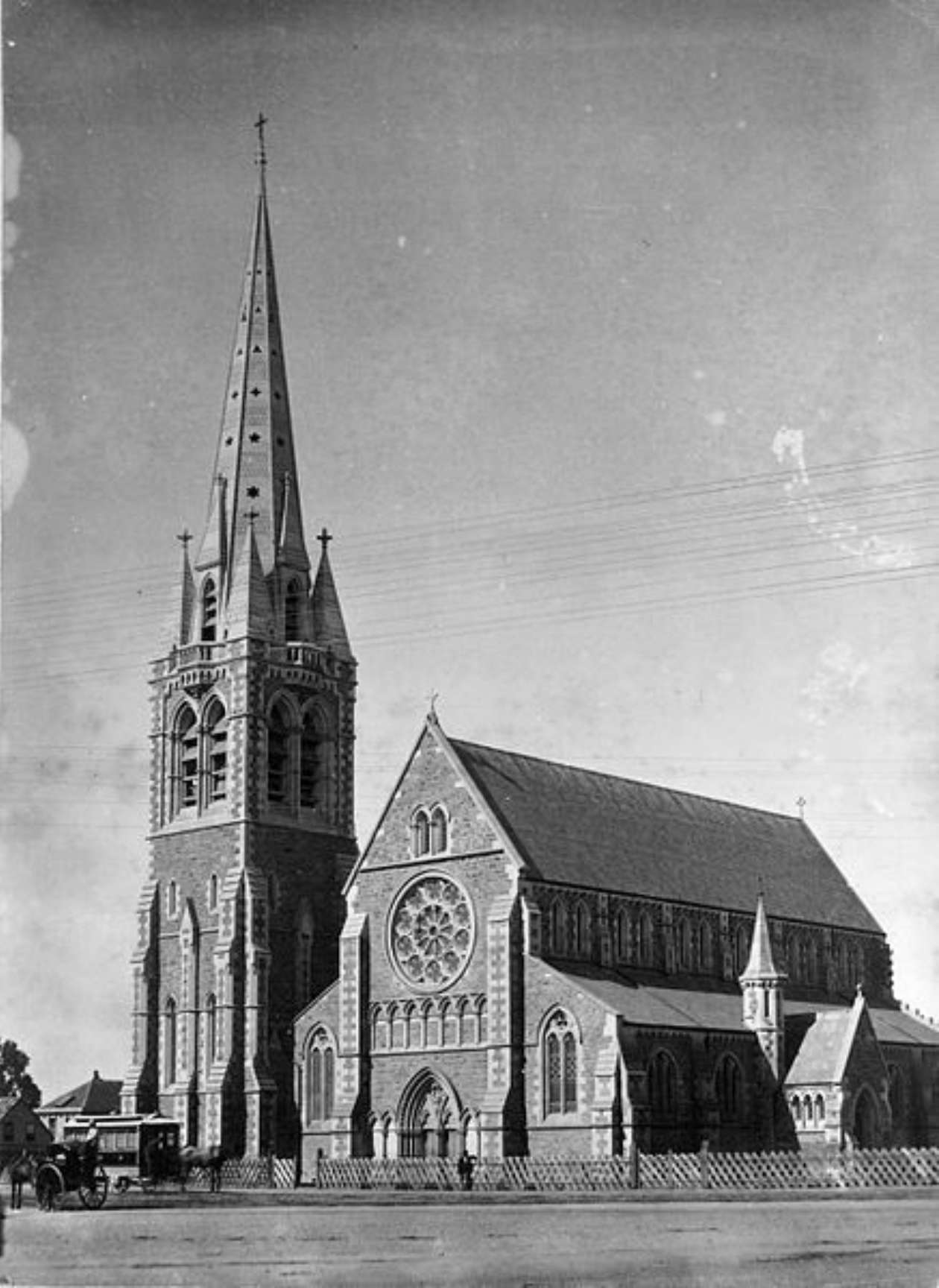 Figure 1 Christchurch Cathedral - a cultural artefact moving through time