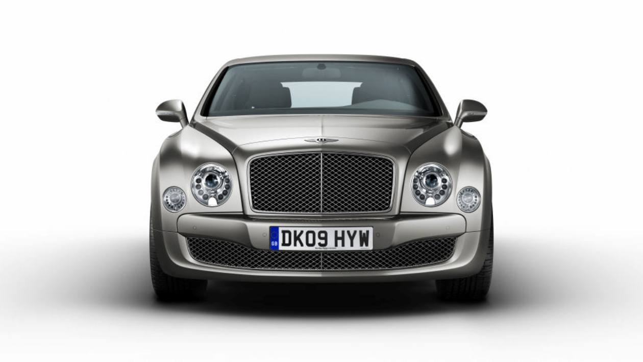 Figure 2 Bentley Mulsanne - cost-effective manufacturing processes underpin today's premium products