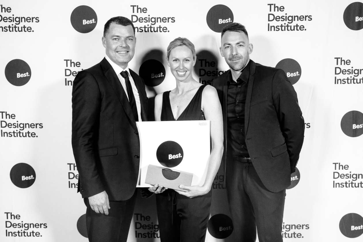 Warren and Mahoney honoured with Purple Pin at Designers Institute Best Awards