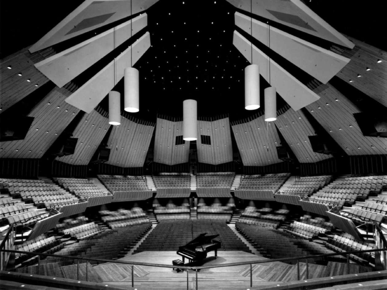 Figure 5 Christchurch Town Hall - a world class acoustic environment
