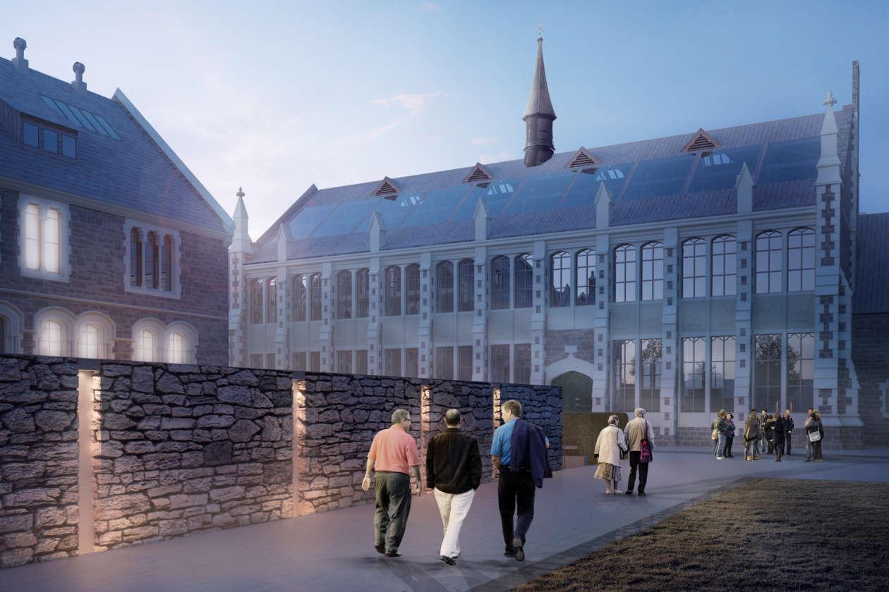 6540 Arts Centre Rebuild Boilerhouse Cam004