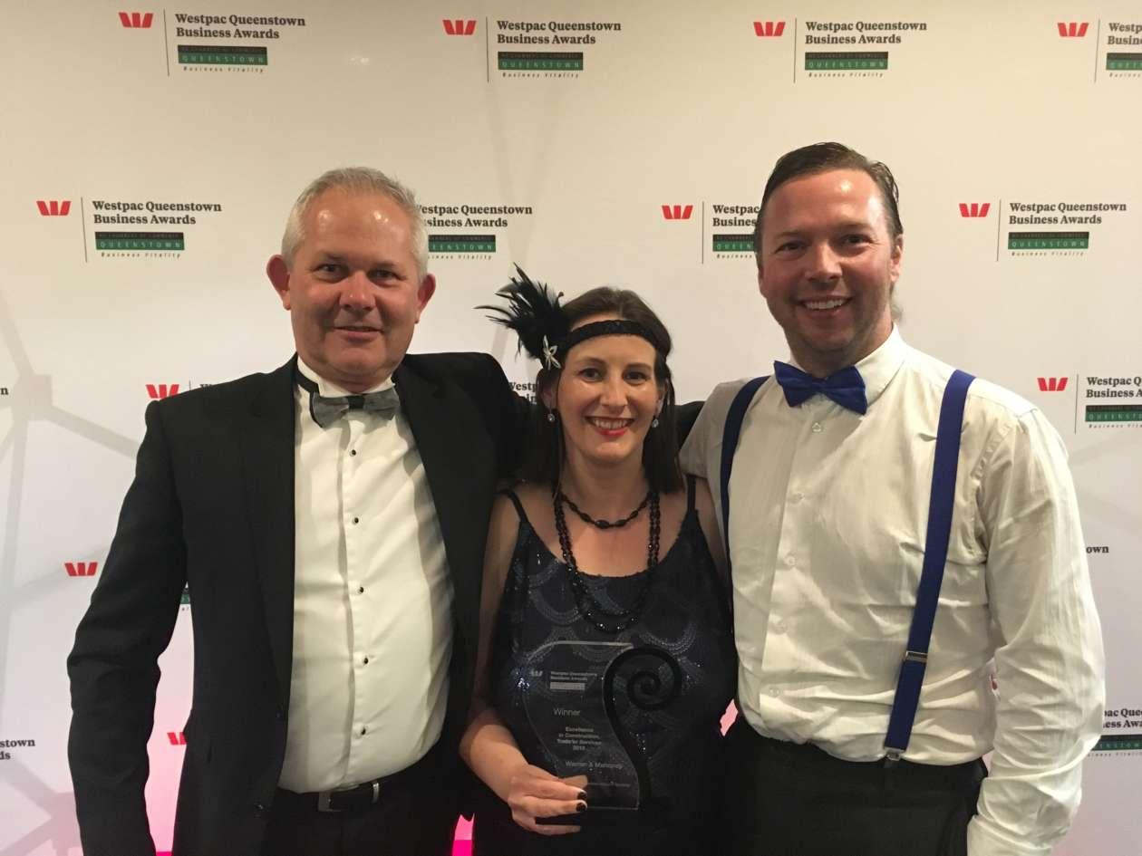 Queenstown studio receives Business Excellence Award