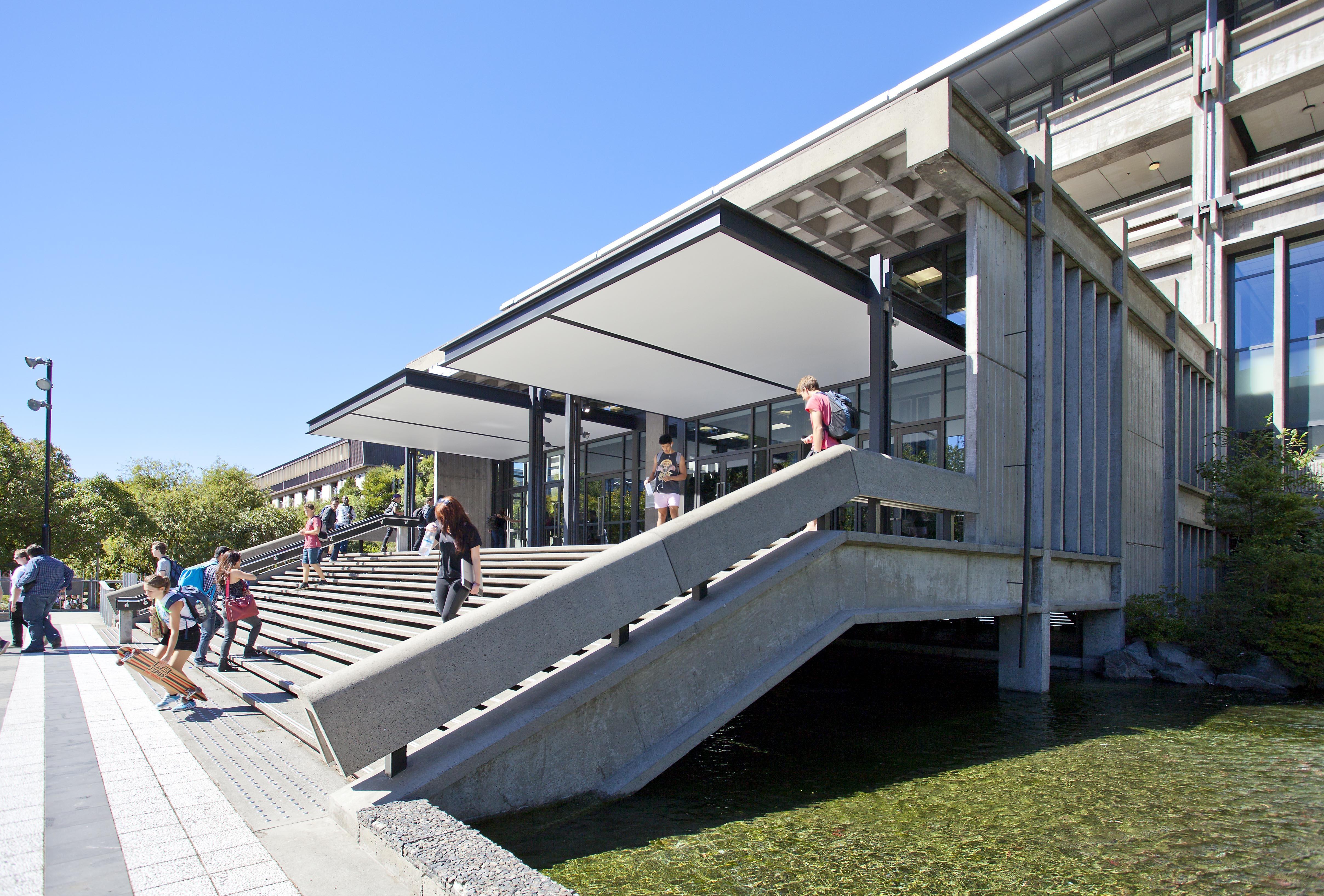 Students Entrance Exterior
