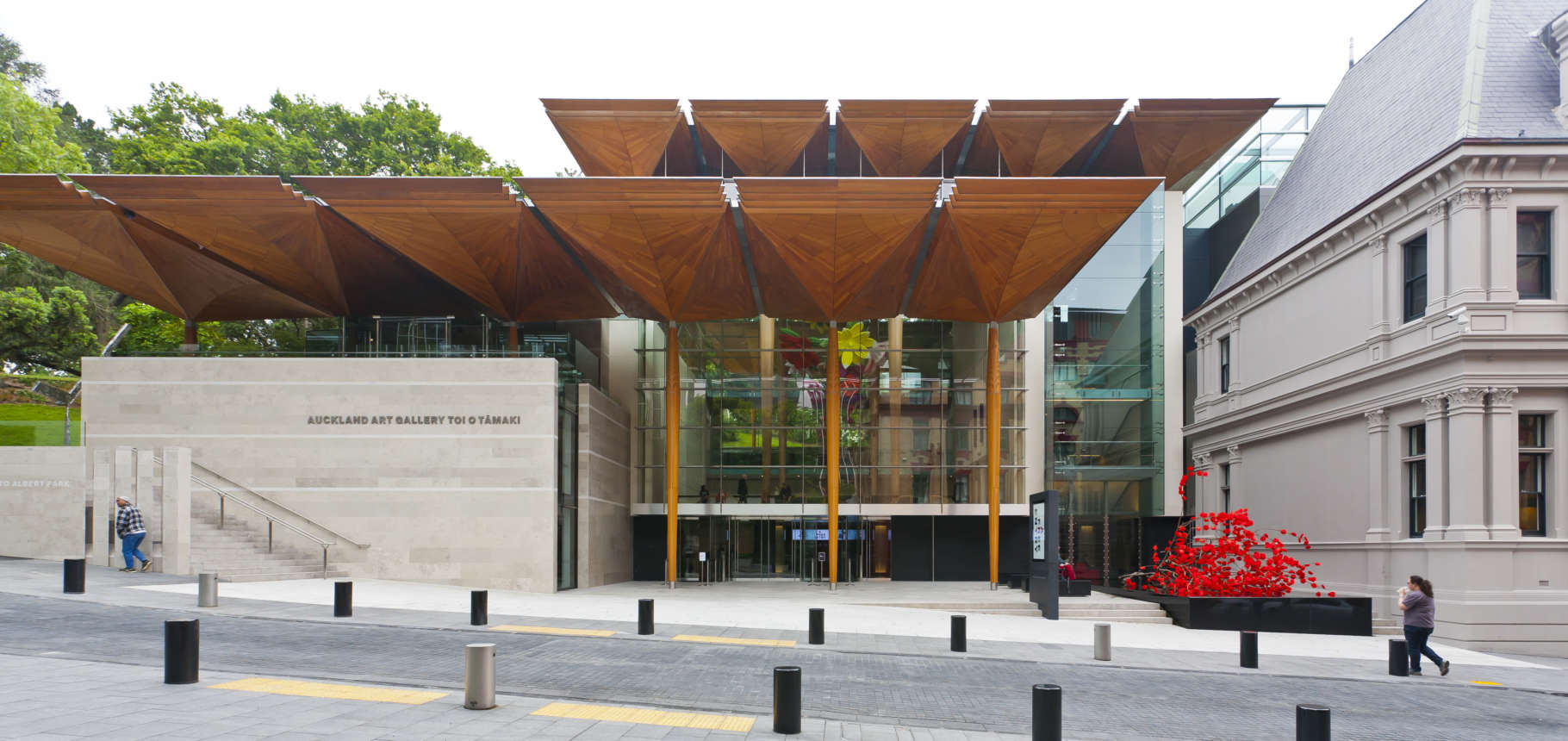 Auckland Art Gallery by FJMT and Archimedia. Photography Courtesy: Guy Wilkinson